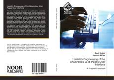 Buchcover von Usability Engineering of the Universities Web Pages User Interface