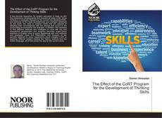Bookcover of The Effect of the CoRT Program for the Development of Thinking Skills