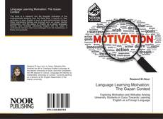 Bookcover of Language Learning Motivation: The Gazan Context