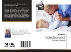 Individual Determinants Of Postnatal Care Services Utilization at Gov的封面