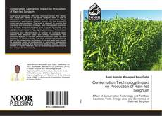 Buchcover von Conservation Technology Impact on Production of Rain-fed Sorghum