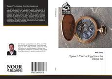 Bookcover of Speech Technology from the inside out
