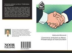 Bookcover of Commerce ambulant au Maroc: Problématique et restructuration