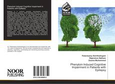 Bookcover of Phenytoin Induced Cognitive Impairment in Patients with Epilepsy