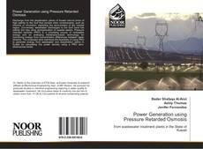 Portada del libro de Power Generation using Pressure Retarded Osmosis