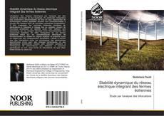Couverture de Stabilité dynamique du réseau électrique intégrant des fermes éoliennes