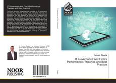 Bookcover of IT Governance and Firm's Performance: Theories and Best Practice