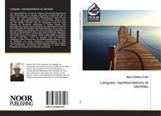 Buchcover von Langues, représentations et identités