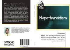Effets des antithyroïdiens sur la fonction thyroïdienne chez le rat kitap kapağı