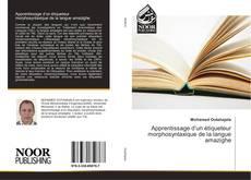 Couverture de Apprentissage d'un étiqueteur morphosyntaxique de la langue amazighe