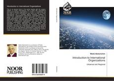 Bookcover of Introduction to International Organizations