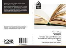 Capa do livro de Effect of Cesarean Section on Total Fertility Among Women in Egypt
