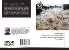 Capa do livro de Flash Flood Spatial Analysis Using GIS and Remote Sensing Techniques