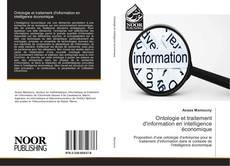 Couverture de Ontologie et traitement d'information en intelligence économique