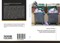 Capa do livro de Thermal cracking of low and high density polyethylene