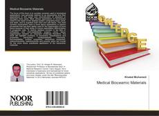 Bookcover of Medical Bioceamic Materials