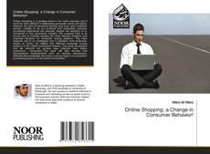 Buchcover von Online Shopping: a Change in Consumer Behavior!