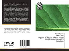 Portada del libro de Impacts of the gall-forming insect Oecocecis guyonella on a halophyte