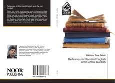 Bookcover of Reflexives In Standard English and Central Kurdish