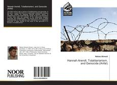 Portada del libro de Hannah Arendt, Totalitarianism, and Genocide (Anfal)