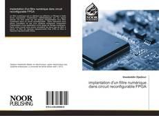 implantation d'un filtre numérique dans circuit reconfigurable FPGA的封面