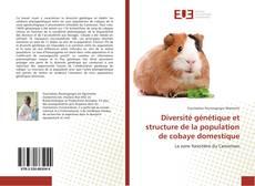 Buchcover von Diversité génétique et structure de la population de cobaye domestique
