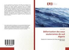 Bookcover of Déferrisation des eaux souterraines de sud Algérie