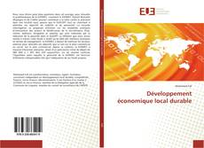 Bookcover of Développement économique local durable
