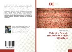 Bookcover of Batembo, Pouvoir coutumier et Nation congolaise