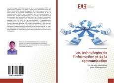 Couverture de Les technologies de l'information et de la communication