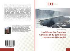 Borítókép a  La défense des Common Concerns et du patrimoine commun de l'Humanité - hoz
