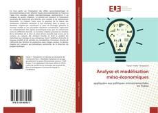 Bookcover of Analyse et modélisation méso-économiques