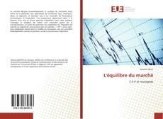 Buchcover von L'équilibre du marché