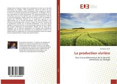 Bookcover of La production vivrière