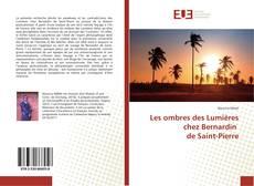 Capa do livro de Les ombres des Lumières chez Bernardin de Saint-Pierre