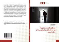 Borítókép a  Hyponeurotisation chirurgicale sélective et spasticité - hoz