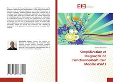 Bookcover of Simplification et Diagnostic de Fonctionnement d'un Modèle ASM1