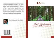 Bookcover of Motifs littéraires dans l'oeuvre d'Alain-Fournier