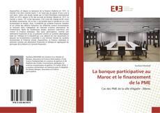 Capa do livro de La banque participative au Maroc et le financement de la PME