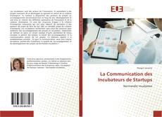 Portada del libro de La Communication des Incubateurs de Startups