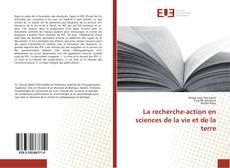 Portada del libro de La recherche-action en sciences de la vie et de la terre
