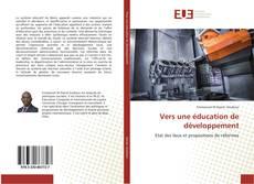 Обложка Vers une éducation de développement