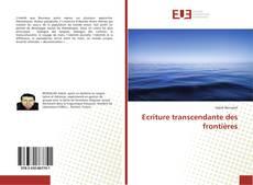 Bookcover of Ecriture transcendante des frontières