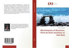 Montesquieu et Rousseau, l'Etat de droit socialiste au Viet Nam kitap kapağı
