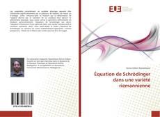 Copertina di Équation de Schrödinger dans une variété riemannienne