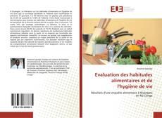 Bookcover of Evaluation des habitudes alimentaires et de l'hygiène de vie