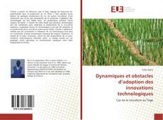 Buchcover von Dynamiques et obstacles d'adoption des innovations technologiques