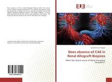 Couverture de Does absence of C4d in Renal Allograft Biopsies