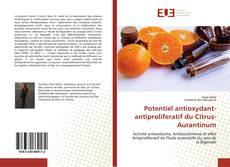 Bookcover of Potentiel antioxydant- antiproliferatif du Citrus-Aurantinum