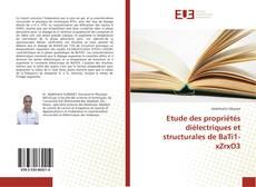 Portada del libro de Etude des propriétés diélectriques et structurales de BaTi1-xZrxO3